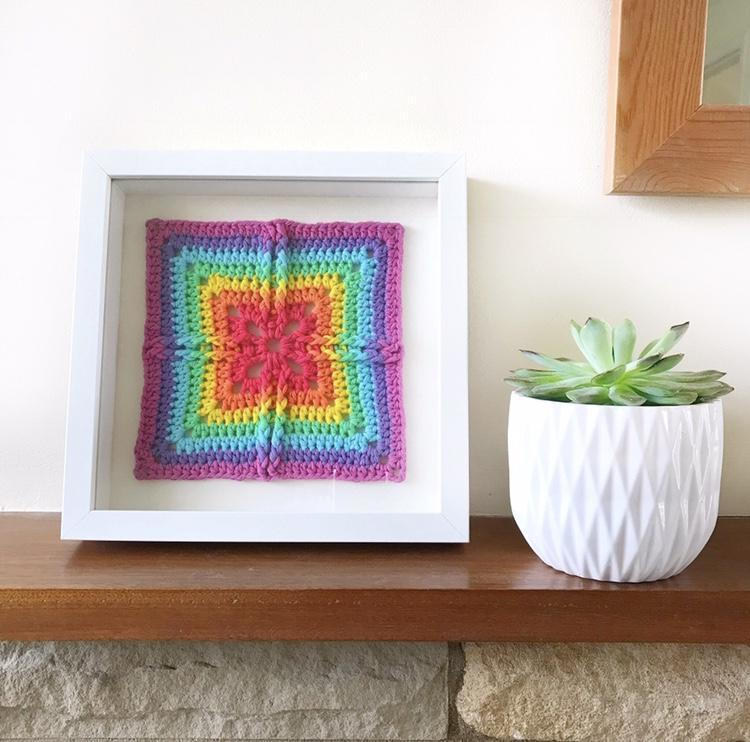 Granny Squares Are The New Black | Guest Post By @jellybean_junction