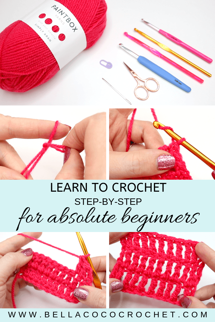 How to Crochet: The Ultimate Beginner's Guide of Tutorials and ... | 1102x735